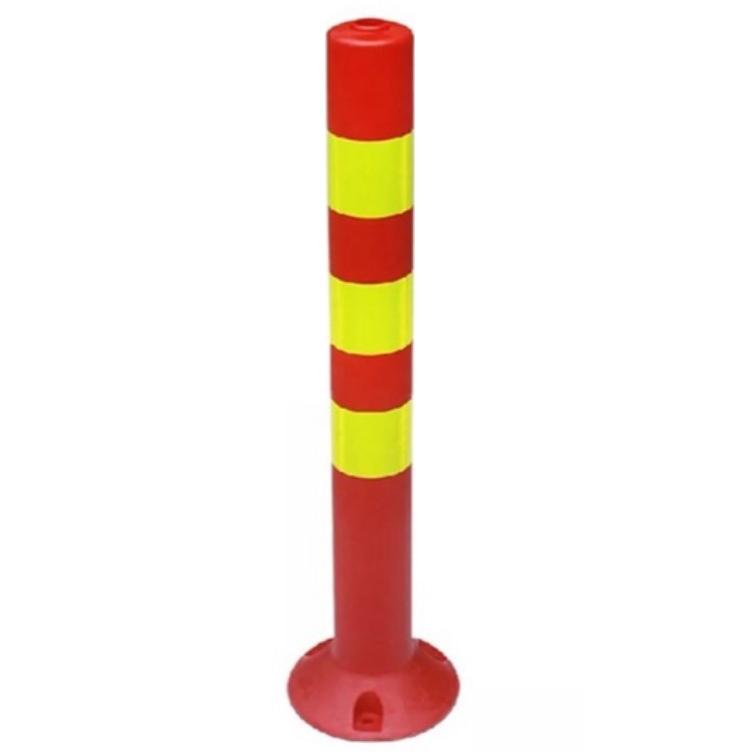 四川塑料警示柱弹力柱