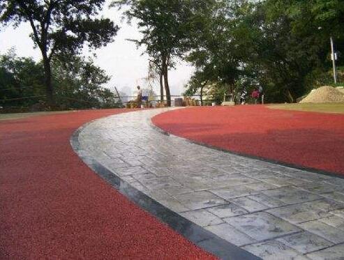 贵州彩色混凝土地坪