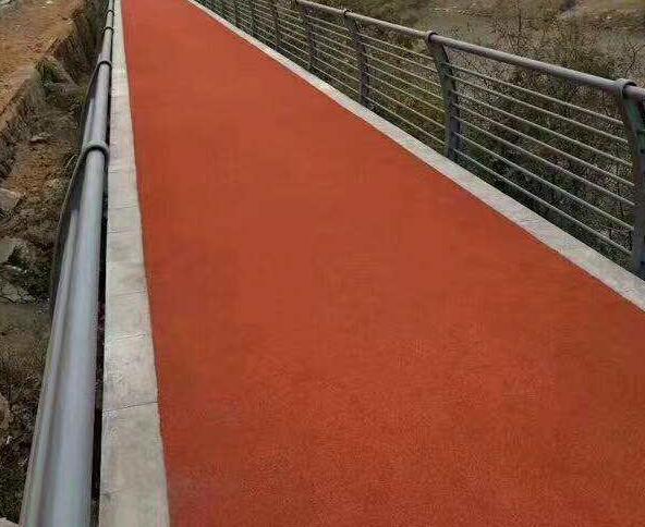 贵州彩色防滑路面