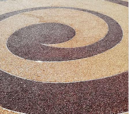 贵州胶粘石地坪