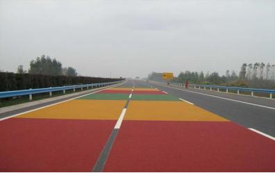 彩色防滑路面材料批发