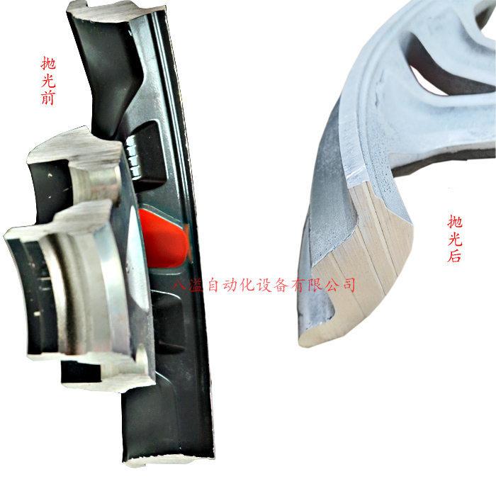 铝轮毂抛光脱漆效果展示