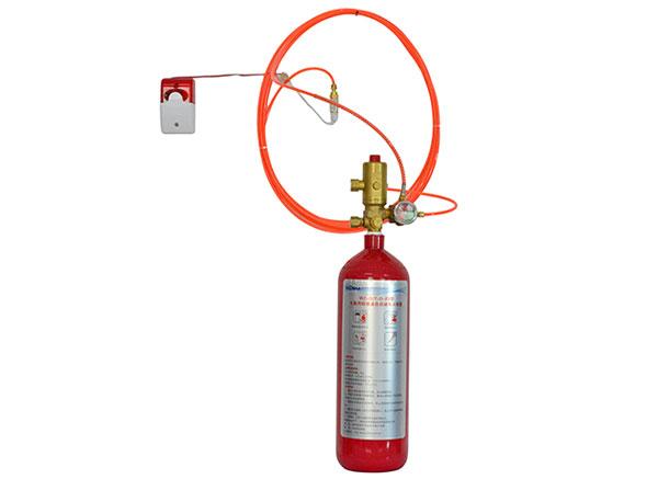 锂电池自动灭火