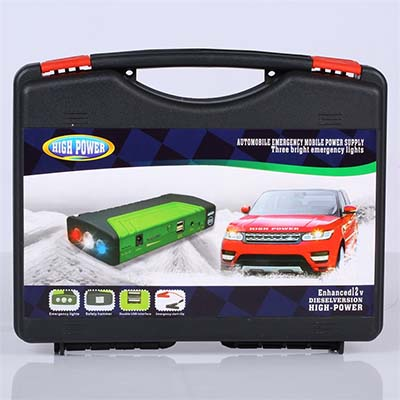 多功能汽车应急启动移动电源