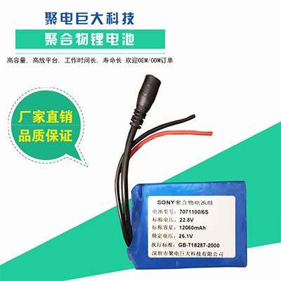 便携式锂电池