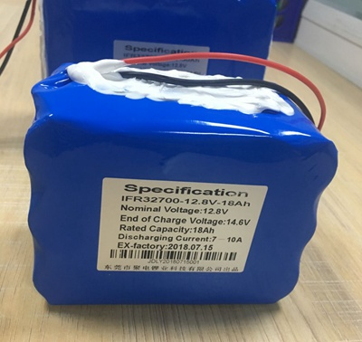 18Ah 磷酸铁锂锂电池