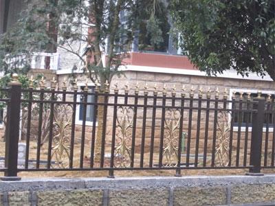 石家庄道路铝艺护栏