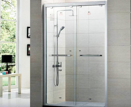 酒店淋浴房玻璃隔断