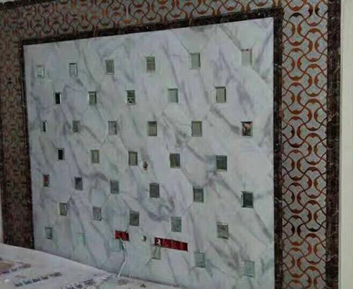 贵州拼镜背景墙