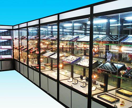贵州玻璃精品展柜