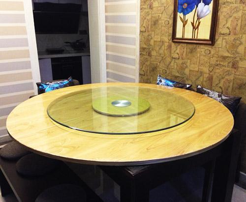 贵州钢化玻璃圆桌