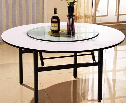 贵阳钢化玻璃圆桌