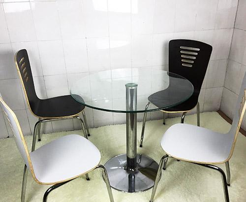 钢化玻璃圆桌