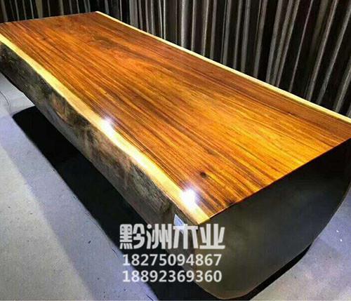 贵州红木大板加工