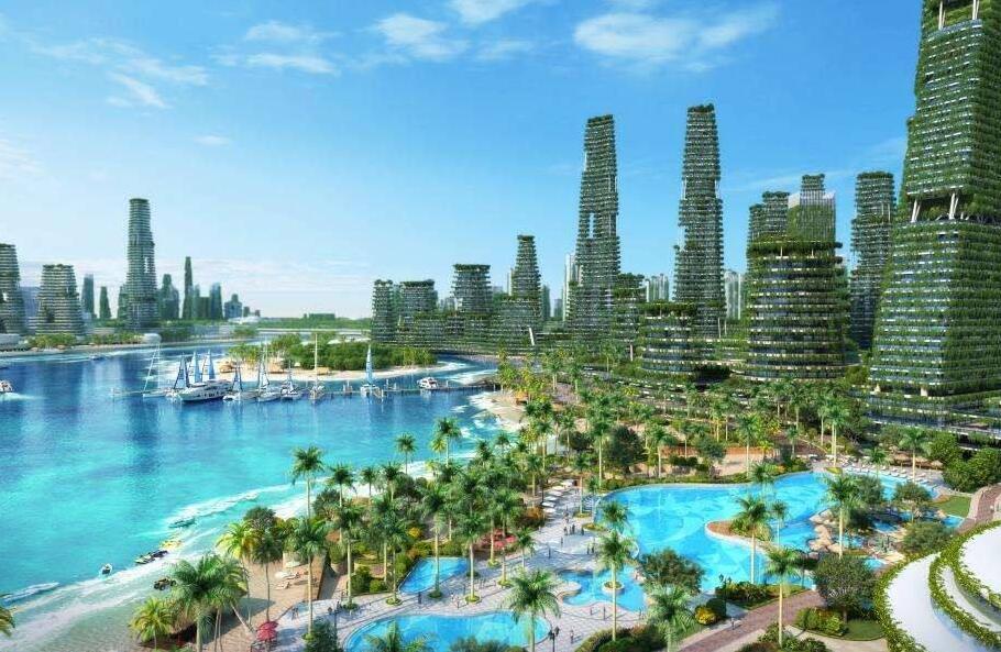 新加坡旁碧桂園森林城市銷售中心