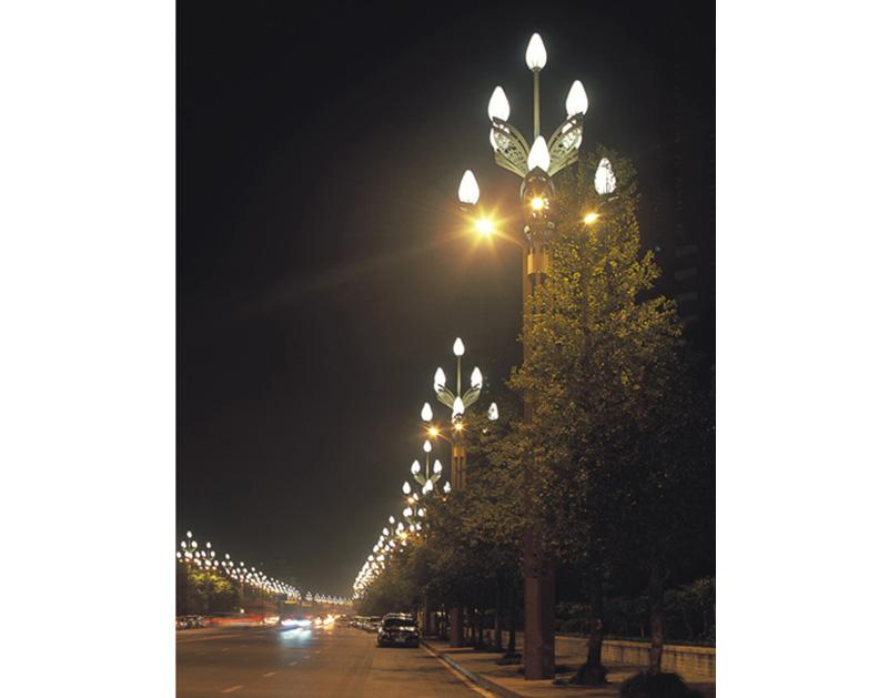 公园中华灯
