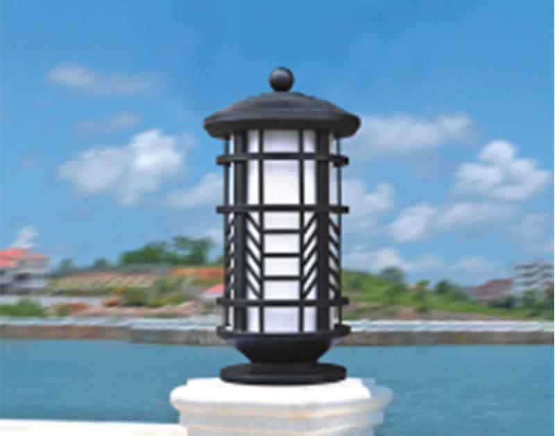 高端柱头灯