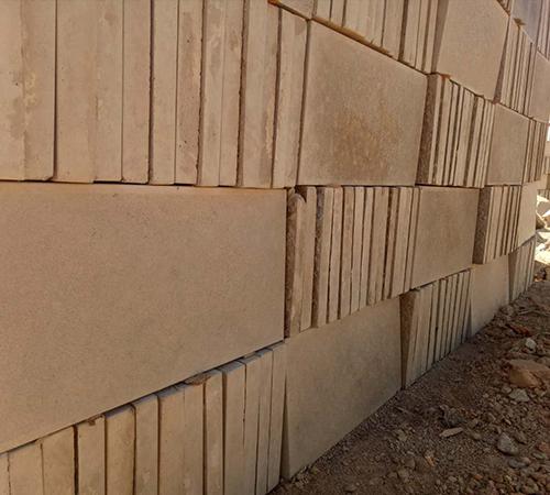 人行道仿石材磚