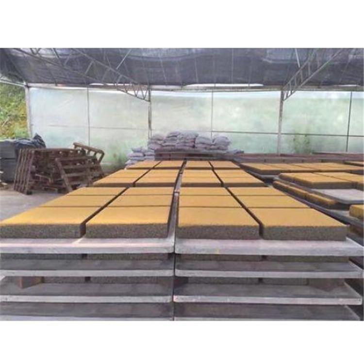 新型滲水磚鋪設
