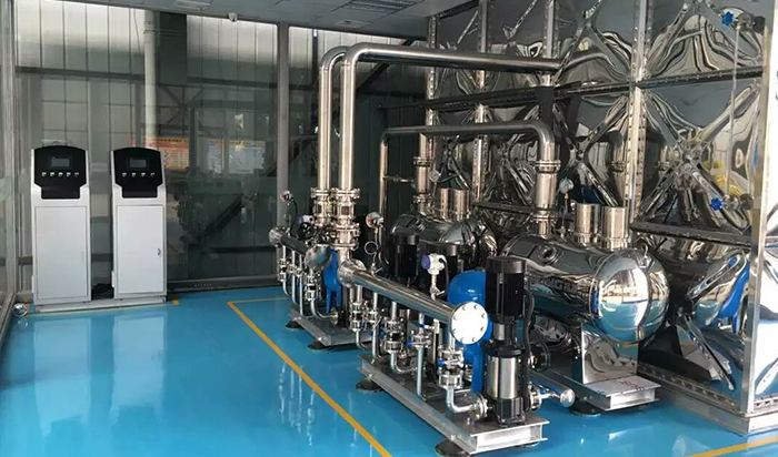 一体化供水泵站