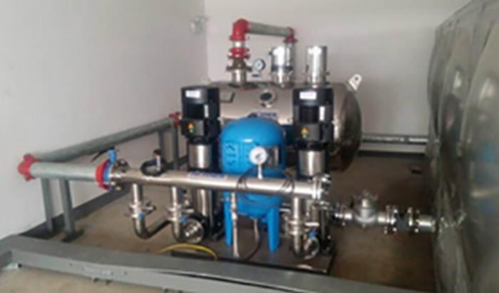沈阳箱式无负压供水设备