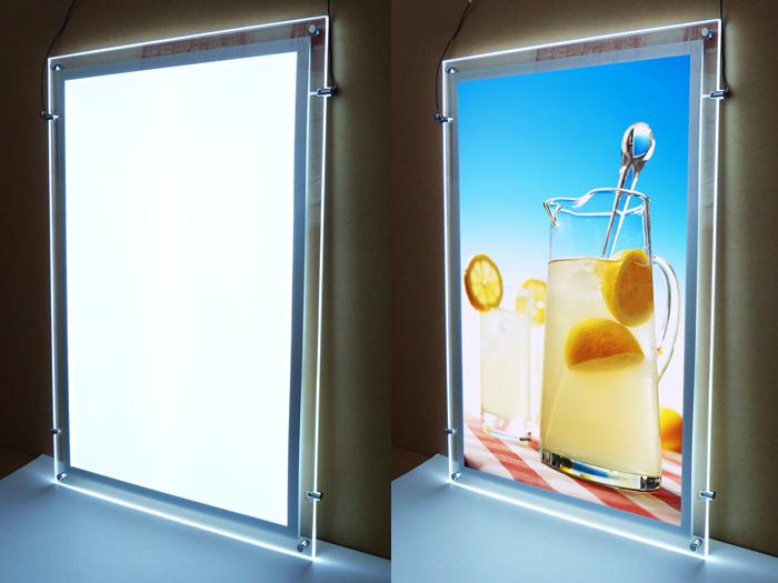 水晶广告灯箱