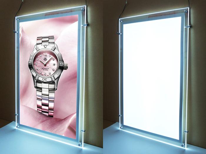 双面水晶广告灯箱