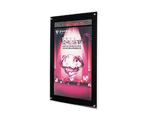 LED走字屛单面水晶灯箱