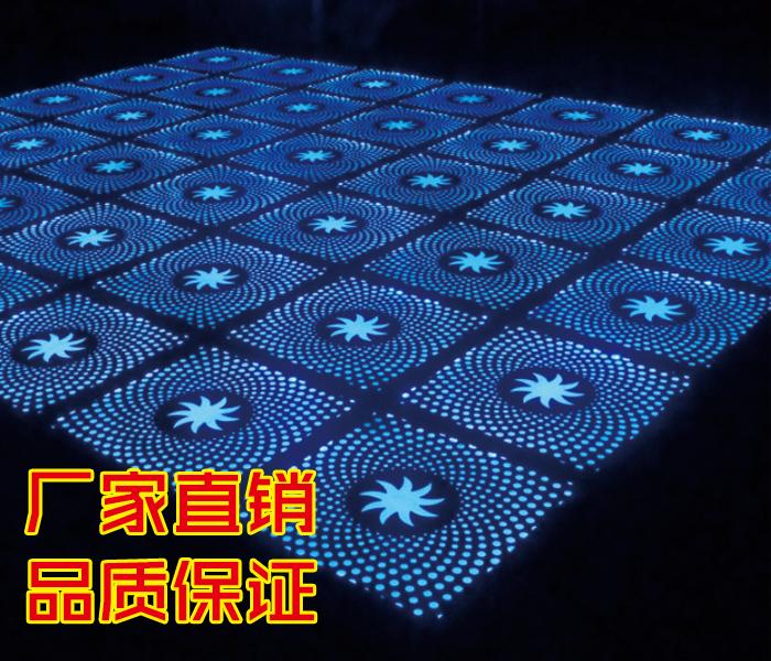 炫彩地板灯