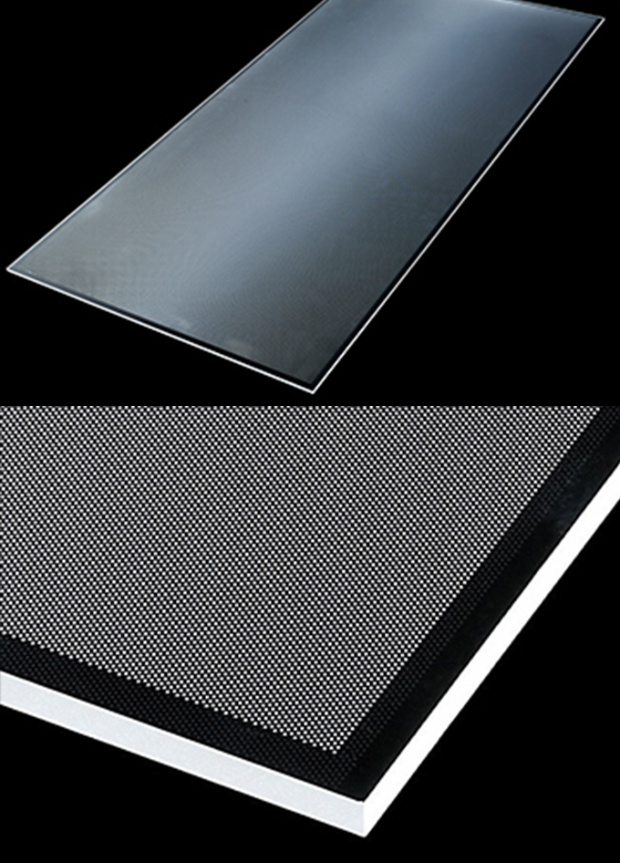 方形导光板