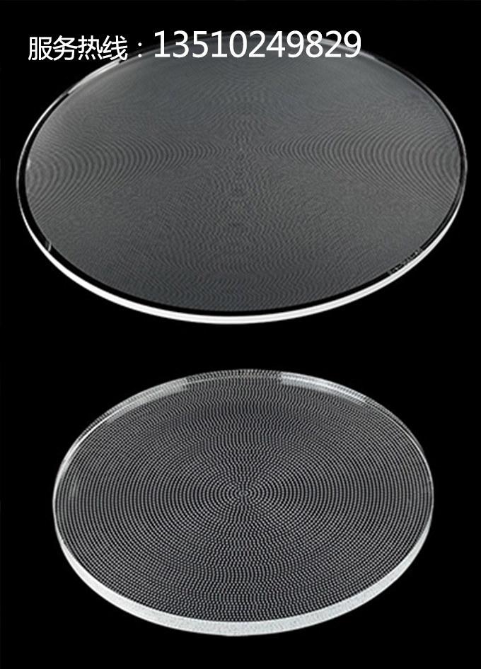 圆形导光板