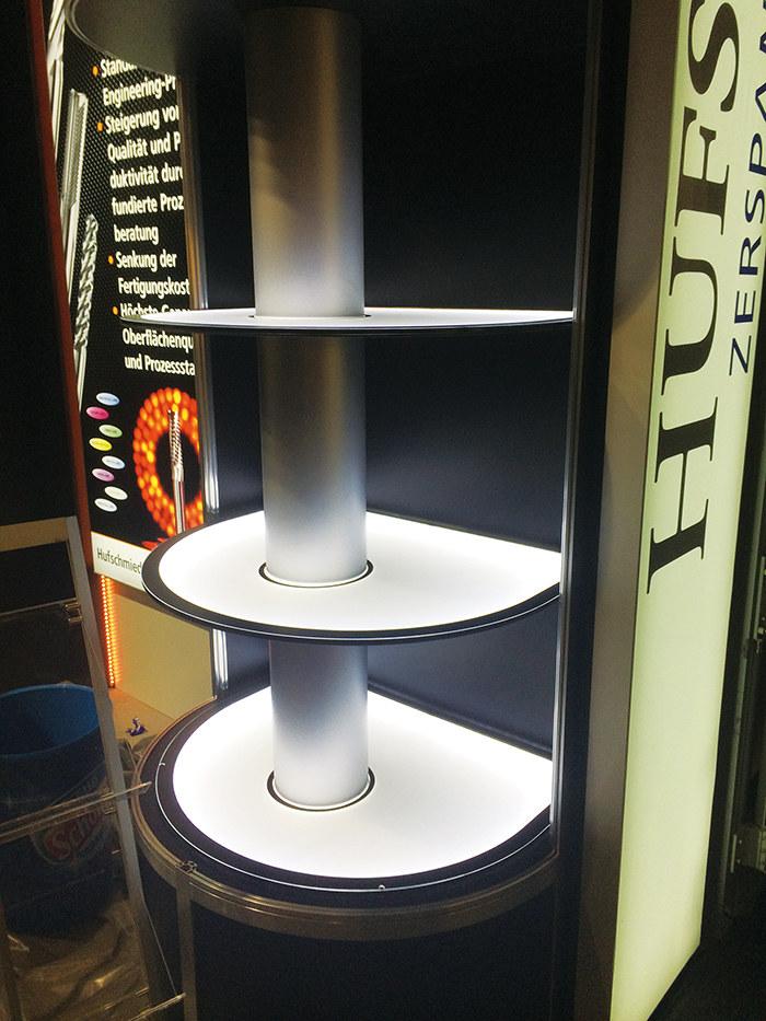 异形展示柜发光板~LED发光隔板