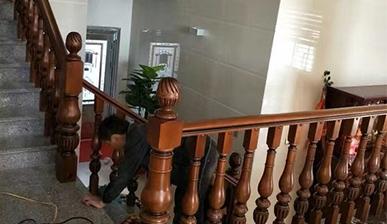 中式楼梯护栏