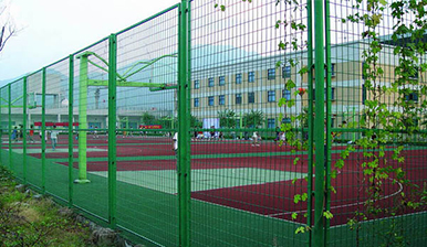 学校浸塑护栏网