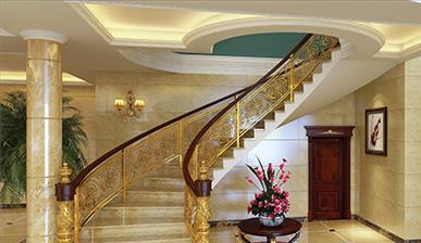 豪華樓梯扶手