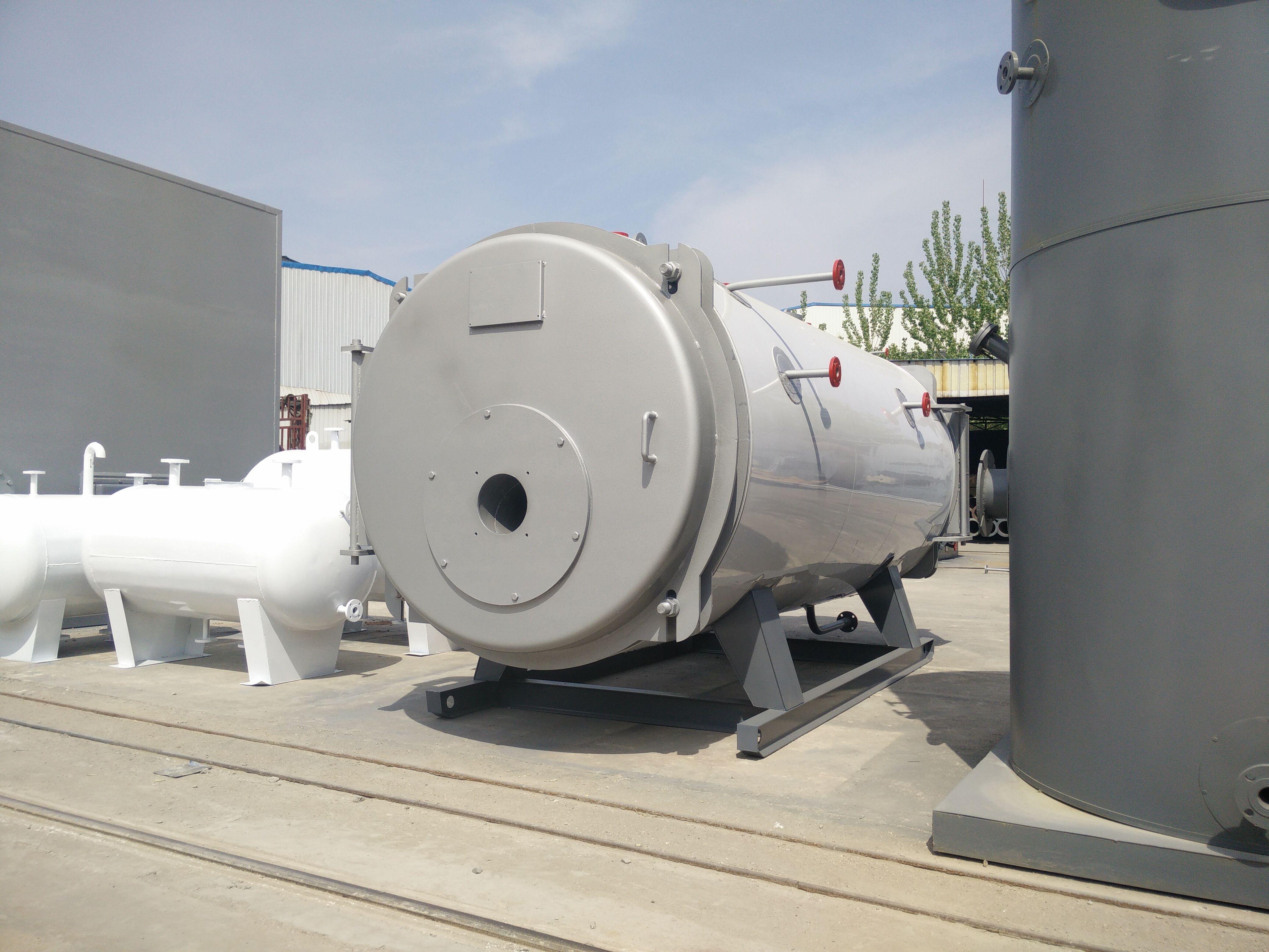 卧式型燃油/气蒸汽锅炉