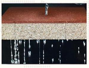 重庆透水砖-透水效果