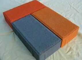 砖厂制作彩砖
