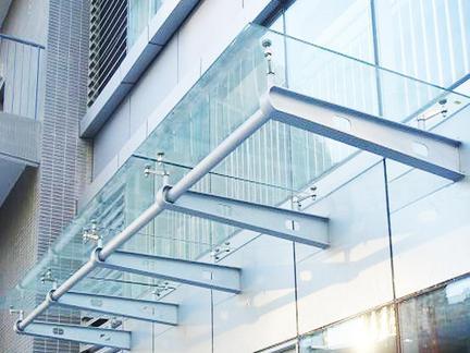 重慶玻璃雨棚