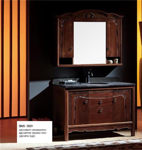 成都新中式浴室柜