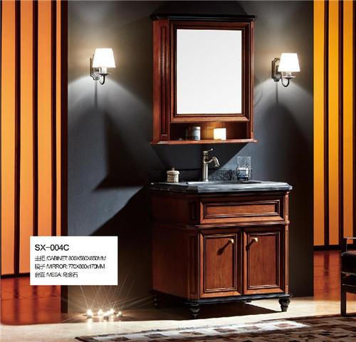 成都仿古浴室柜