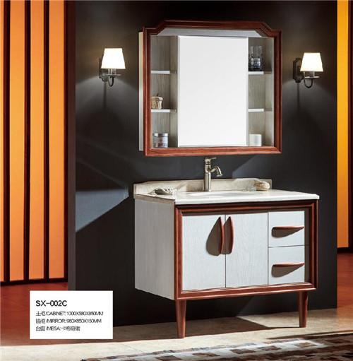 成都浴室柜图片
