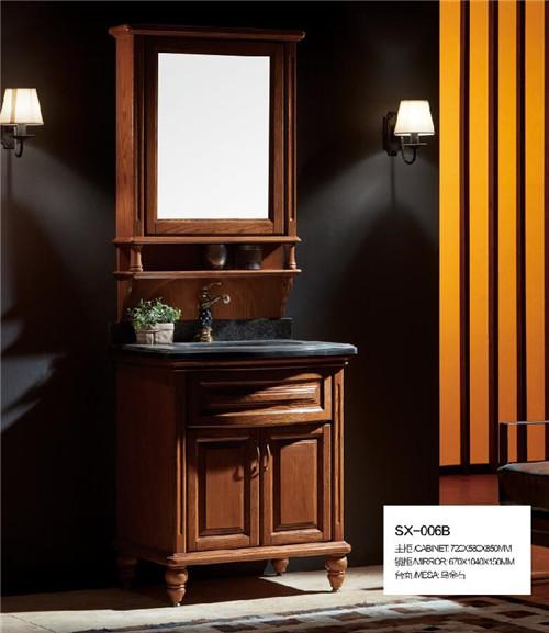 浴室柜定制厂家