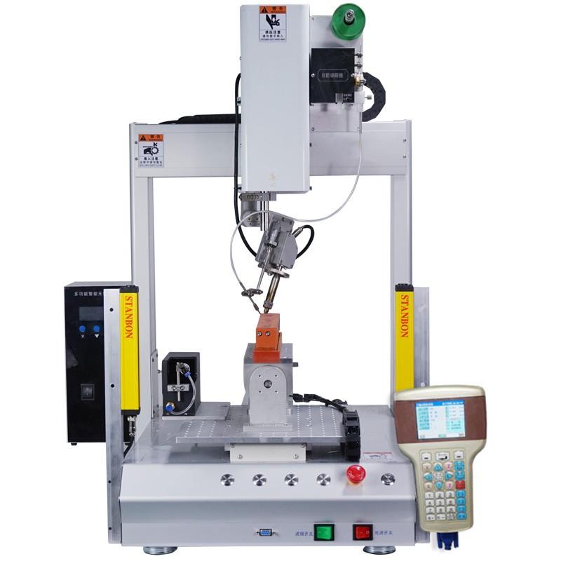 旋转式全自动四轴焊锡机