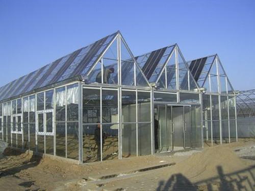 河南玻璃智能温室