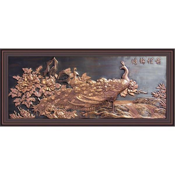 金华铜壁画