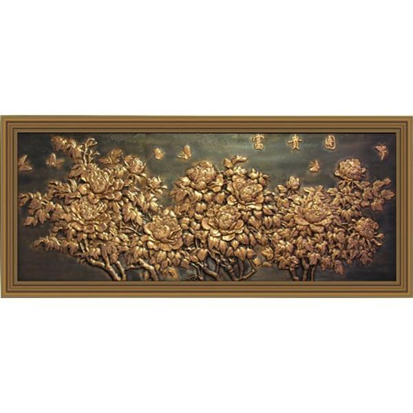 武义铜壁画
