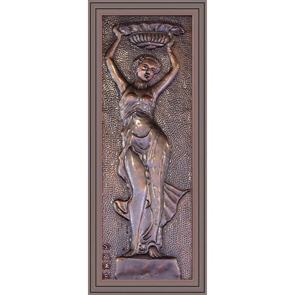 兰溪铜壁画