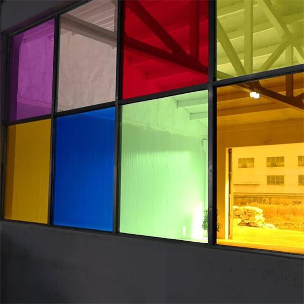 彩色EVA玻璃