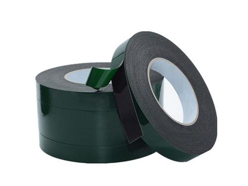 绿膜泡棉双面胶带